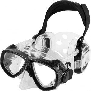 mascara de buceo protetor oidos