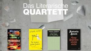 Die Auswahl des Literarischen Quartetts Quelle: ZDF