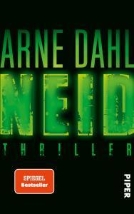 Arne Dahl - Neid (Cover)