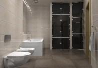 Дизайн ванной комнаты в трехкомнатной квартире, г. Киев