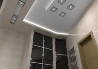 Дизайн ванной, г. Киев. Освещение в ванной комнате.