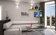 Дизайн интерьера в стиле лофт, г. Буча