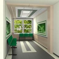 Дизайн коридора в налоговой академии, г. Ирпень