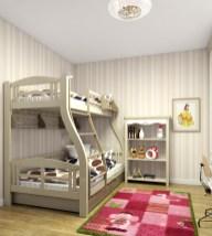 Дизайн детской для девочек. Двухъярусная кровать Светлана Венгер