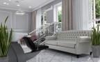 Дизайн интерьера салона красоты в классическом стиле. 5