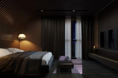 Ночное освещение. Спальня Стимпанк