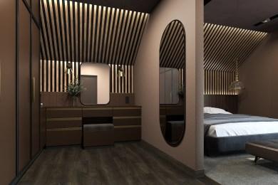 Дизайн гардеробной комнаты в стиле SteamPunk