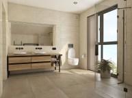 Ванная комната с двойным умывальником