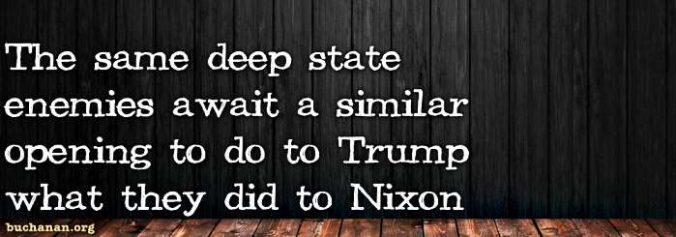 Nixon and Trump, Then and Now