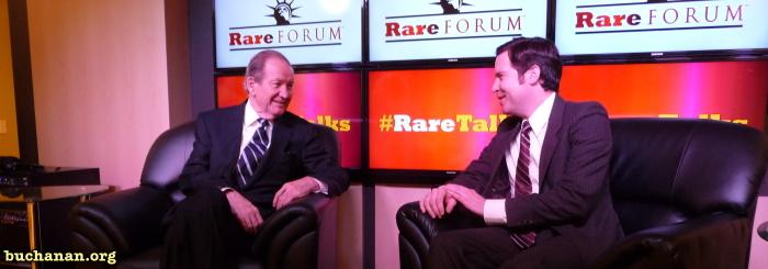 Pat Buchanan at Rare.us Event