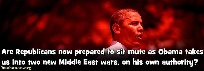 Tell the Imperial President: No More Wars!