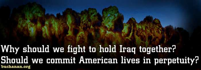 Bombing Won't Save Iraq