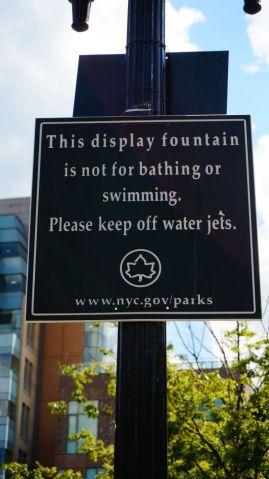 Ah, on ne pouvai pas se baigner?