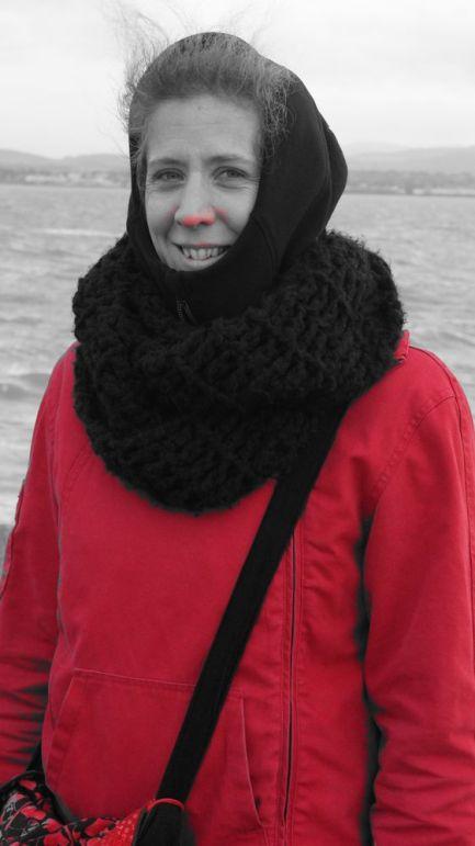 Un grand merci chou de mettre ton filtre rouge quand j'ai froid au nez !