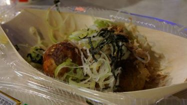 Takoyaki (boulettes de poulpe): miam!