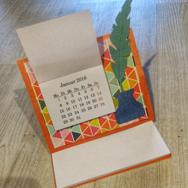 12.12 Wir basteln einen Tischkalender