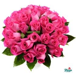 flori-buchet-de-35-trandafiri-roz-28916