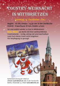 Country-Weihnacht in Wittbrietzen 2017
