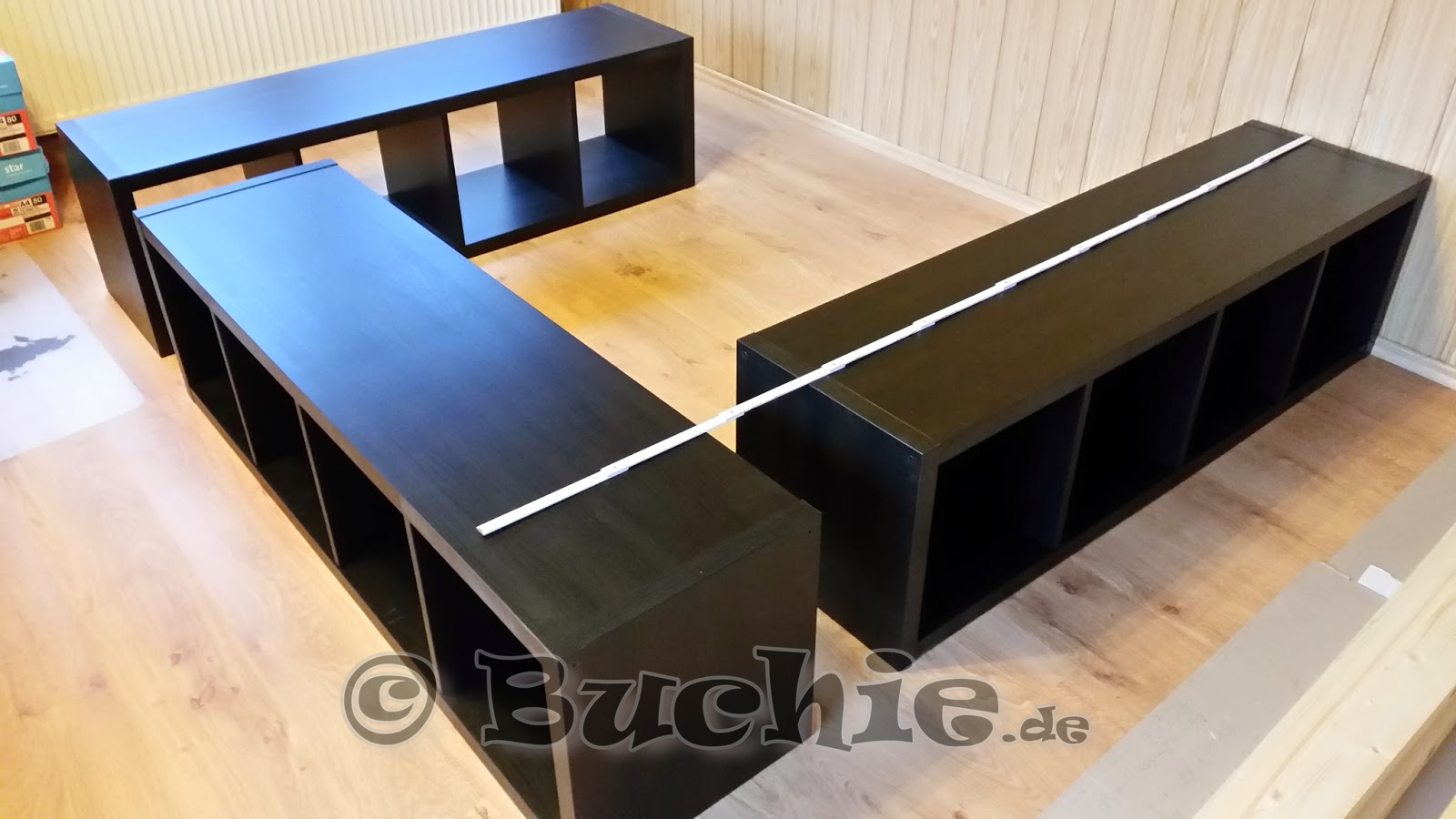 zusammenklappbare stoffaufbewahrungsboxen cubes minze green leaf 3er pack smash. Black Bedroom Furniture Sets. Home Design Ideas