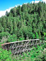 Old mountain railroad