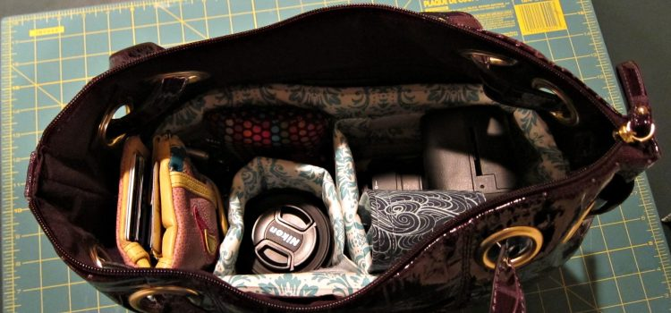 Project DIY: Camera Bag Purse