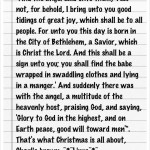 quote this Christmas edition.