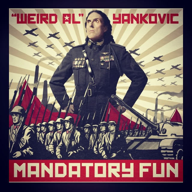 "September 9 :: p365 :: year 34 day 316 :: Be ya didn't know this was on my running playlist. ""Weird Al"" cracks me up!"