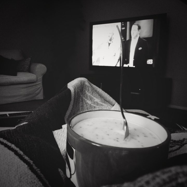 October 3 :: p365 :: year 34 day 340 :: C is for....comfort. Feet up, family and ice cream. One of my happy places.