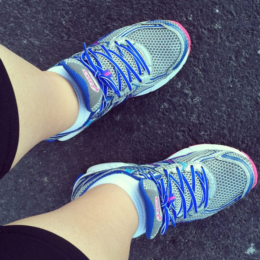 October 7 :: p365 :: year 34 day 344 :: G is for....Go. Bought new running shoes and I am ready to go.