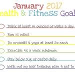 2016 Recap + 2017 Races + January 2017 | Fitness Goals