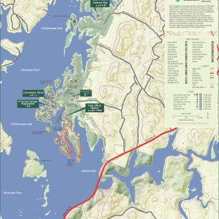 run-amok-50-mile-race-map