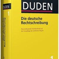Ab sofort richtig: die Duden! Der neue Duden ist ein Duden3 (sprich: Duden hoch 3). Der neue Duden - einAll-in-one-Produkt aus Buch, Korrektursoftware und Wörterbuch-App.