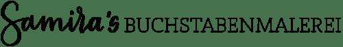 Buchstabenmalerei Logo