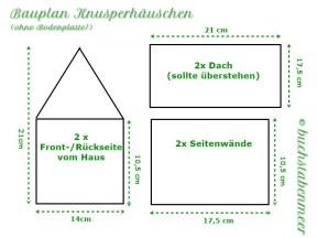 Vorlage Lebkuchenhaus