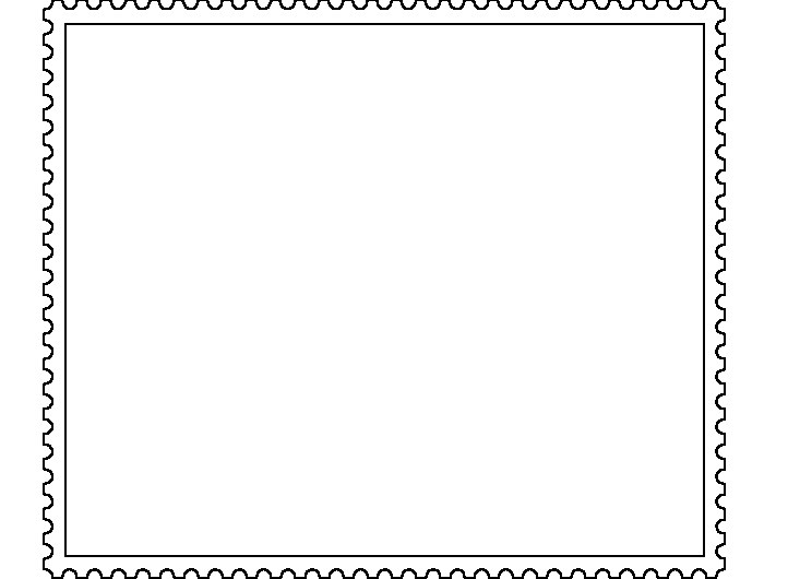 OER Kunst: Vorlagen für Briefmarken