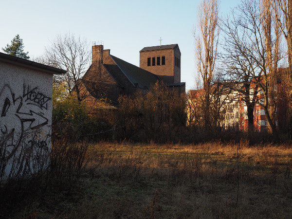 Backside Church Schöneweide