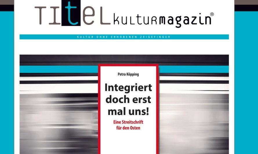Rezension im TITEL Kulturmagazin erschienen: Demütigungen, Kränkungen und Ungerechtigkeiten!