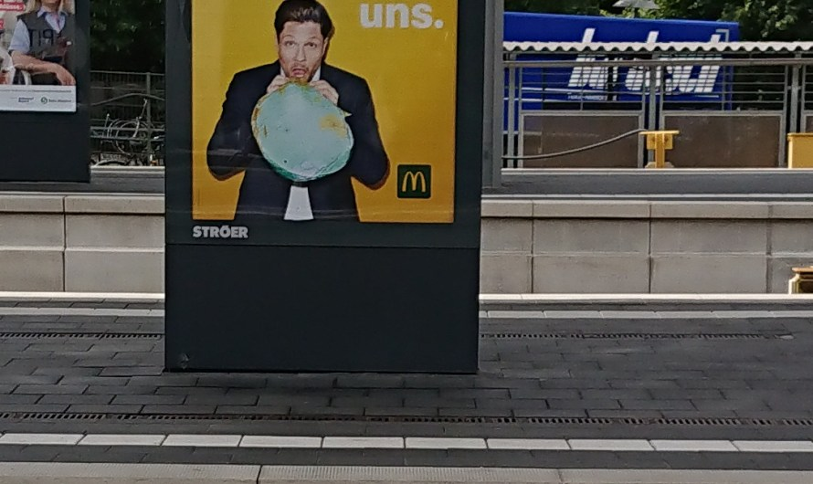 Weniger schlecht ist auch eine Verbesserung @McDonalds