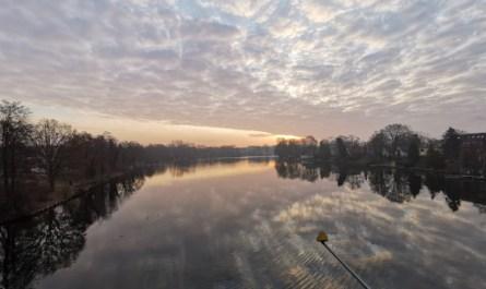 Blick von der Wilhelm-Spindler-Brücke, 12459 Berlin