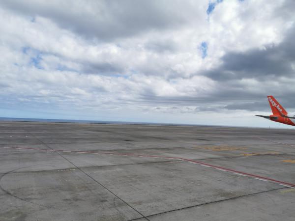 ABFLUG, Flughafen Reina Sofia, Teneriffa Süd