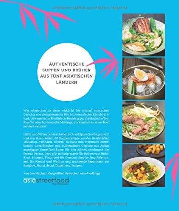 Asia Street Bowls: Authentische Rezepte für Suppen und Brühen aus fünf asiatischen Ländern (Thailand, Vietnam, Korea, Taiwan und Myanmar) mit spannenden Reportagen - 2