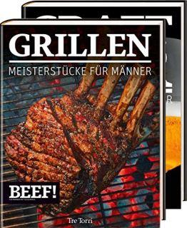 BEEF! GRILLEN + CRAFT BIER: Zwei Meisterstücke für Männer - IM BUNDLE (BEEF!-Kochbuchreihe) - 1