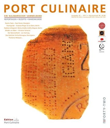 PORT CULINAIRE FORTY-TWO: Sicherer Hafen für Gourmets – Band Nr. 42 - 1