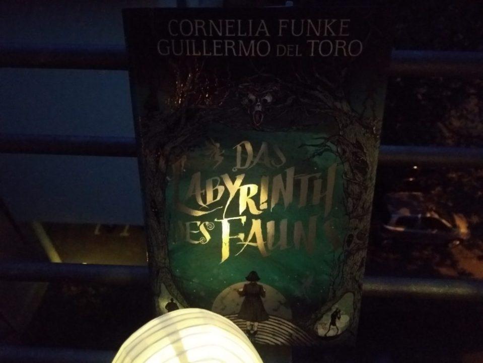"""Das Cover von """"Das Labyrinth des Fauns"""". Fotografiert im Dunkeln."""
