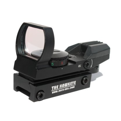 The Hawkeye Red/Green Dot Reflex Sight Front