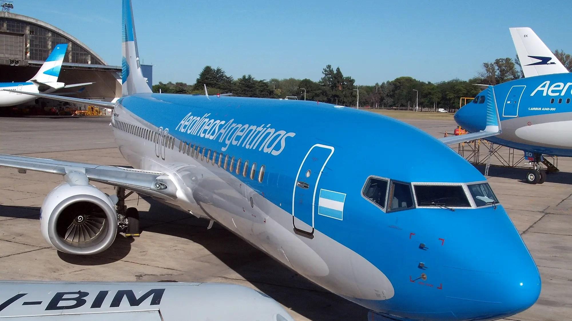 Resultado de imagen para aerolineas argentinas aeroparque