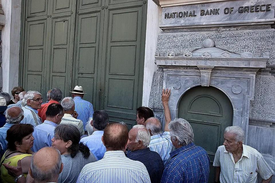 A horas del vencimiento, Grecia confirma que no pagará al FMI y caerá en default Foto:AP