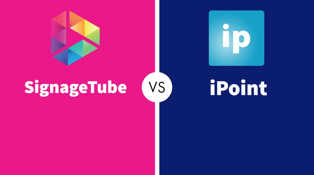 SignageTube vs iPoint