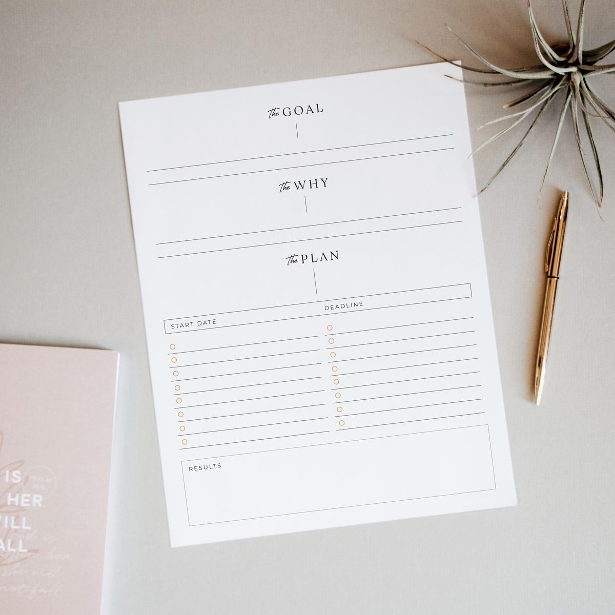 Free Printable Goal Planning Worksheet How To Write