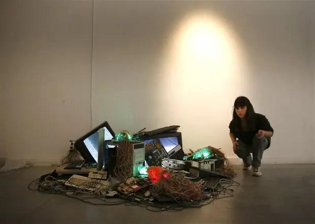 Alejandra Ferruccio, instalación robótica